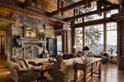 Фото 35 Интерьер деревенского дома: стилистические тонкости оформления и 85+ уютных и комфортных вариантов