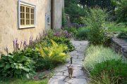 Фото 23 Хоста в ландшафтном дизайне: особенности ухода и 80 гармоничных композиций для сада