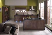 Фото 2 Коричневая кухня: оформление интерьера в шоколадных оттенках и 85 теплых и уютных воплощений
