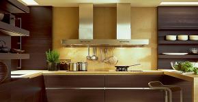 Коричневая кухня: оформление интерьера в шоколадных оттенках и 85 теплых и уютных воплощений фото