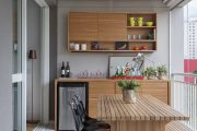 Фото 21 Коричневая кухня: оформление интерьера в шоколадных оттенках и 85 теплых и уютных воплощений