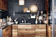 Фото 6 Коричневая кухня: оформление интерьера в шоколадных оттенках и 85 теплых и уютных воплощений