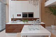 Фото 38 Коричневая кухня: оформление интерьера в шоколадных оттенках и 85 теплых и уютных воплощений