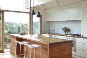 Фото 40 Коричневая кухня: оформление интерьера в шоколадных оттенках и 85 теплых и уютных воплощений