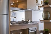Фото 46 Коричневая кухня: оформление интерьера в шоколадных оттенках и 85 теплых и уютных воплощений