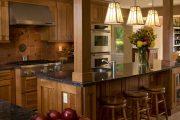 Фото 51 Коричневая кухня: оформление интерьера в шоколадных оттенках и 85 теплых и уютных воплощений