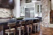 Фото 55 Коричневая кухня: оформление интерьера в шоколадных оттенках и 85 теплых и уютных воплощений