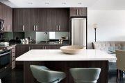 Фото 10 Коричневая кухня: оформление интерьера в шоколадных оттенках и 85 теплых и уютных воплощений