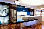Фото 59 Коричневая кухня: оформление интерьера в шоколадных оттенках и 85 теплых и уютных воплощений