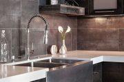 Фото 60 Коричневая кухня: оформление интерьера в шоколадных оттенках и 85 теплых и уютных воплощений