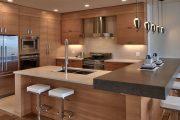 Фото 61 Коричневая кухня: оформление интерьера в шоколадных оттенках и 85 теплых и уютных воплощений