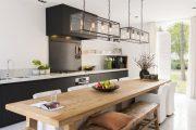 Фото 11 Коричневая кухня: оформление интерьера в шоколадных оттенках и 85 теплых и уютных воплощений