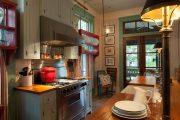 Фото 3 Короткие шторы на кухню: 75+ утонченных интерьерных решений для кухни и столовой зоны