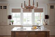 Фото 38 Короткие шторы на кухню: 75+ утонченных интерьерных решений для кухни и столовой зоны