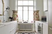 Фото 39 Короткие шторы на кухню: 75+ утонченных интерьерных решений для кухни и столовой зоны