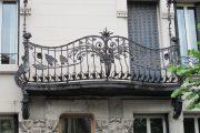 Фото 4 Кованые балконы: французский колониальный шик и 75 его элегантных воплощений