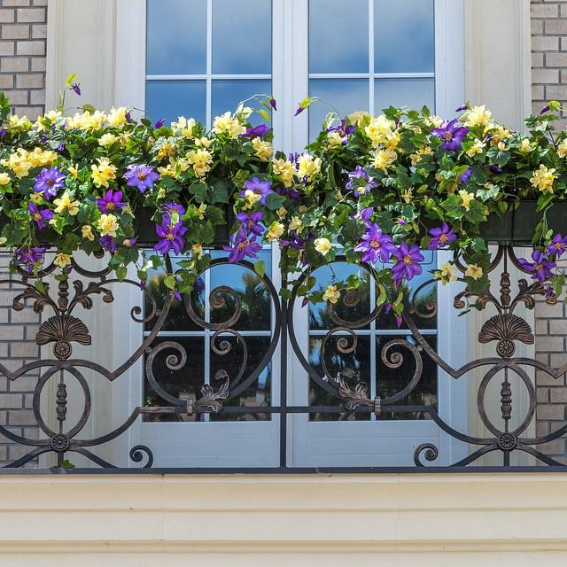 Красивый, ухоженный, а главное цветущий балкон - мечта любой хозяйки, очень важно что бы выбранные вами цветы и само балконное ограждение сочетались друг с другом