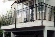 Фото 21 Кованые балконы: французский колониальный шик и 75 его элегантных воплощений