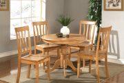 Фото 1 Круглый деревянный стол на одной ножке: 125+ моделей для тех, кто не привык выбирать между эстетикой и функциональностью
