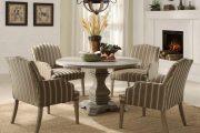 Фото 4 Круглый деревянный стол на одной ножке: 125+ моделей для тех, кто не привык выбирать между эстетикой и функциональностью