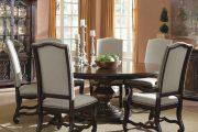 Фото 33 Круглый деревянный стол на одной ножке: 125+ моделей для тех, кто не привык выбирать между эстетикой и функциональностью