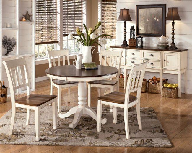 круглые столы на кухню круглый деревянный стол на одной