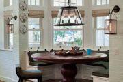 Фото 45 Круглый деревянный стол на одной ножке: 85 моделей для тех, кто не привык выбирать между эстетикой и функциональностью