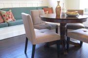 Фото 47 Круглый деревянный стол на одной ножке: 85 моделей для тех, кто не привык выбирать между эстетикой и функциональностью