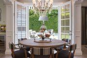 Фото 55 Круглый деревянный стол на одной ножке: 125+ моделей для тех, кто не привык выбирать между эстетикой и функциональностью