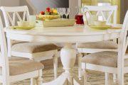 Фото 63 Круглый деревянный стол на одной ножке: 85 моделей для тех, кто не привык выбирать между эстетикой и функциональностью