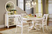 Фото 71 Круглый деревянный стол на одной ножке: 125+ моделей для тех, кто не привык выбирать между эстетикой и функциональностью