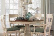 Фото 77 Круглый деревянный стол на одной ножке: 85 моделей для тех, кто не привык выбирать между эстетикой и функциональностью