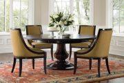 Фото 79 Круглый деревянный стол на одной ножке: 125+ моделей для тех, кто не привык выбирать между эстетикой и функциональностью