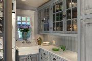 Фото 14 Светлые кухни с патиной: вневременная классика и 85 избранных интерьерных сочетаний