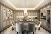 Фото 49 Кухня в стиле арт-деко: тонкости гармоничного интерьера и 75 избранных фотоидей на любой вкус