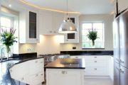 Фото 10 Кухня в стиле арт-деко: тонкости гармоничного интерьера и 75 избранных фотоидей на любой вкус