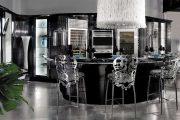 Фото 50 Кухня в стиле арт-деко: тонкости гармоничного интерьера и 75 избранных фотоидей на любой вкус