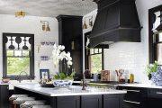 Фото 19 Кухня в стиле арт-деко: тонкости гармоничного интерьера и 75 избранных фотоидей на любой вкус
