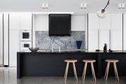 Фото 28 Кухня в стиле арт-деко: тонкости гармоничного интерьера и 75 избранных фотоидей на любой вкус