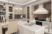 Фото 36 Кухня в стиле арт-деко: тонкости гармоничного интерьера и 75 избранных фотоидей на любой вкус