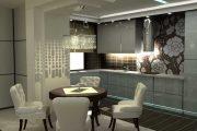 Фото 46 Кухня в стиле арт-деко: тонкости гармоничного интерьера и 75 избранных фотоидей на любой вкус