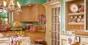 Кухня в стиле шебби-шик: винтажная роскошь для ценителей комфорта и 80 уютных интерьеров фото