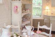 Фото 44 Кухня в стиле шебби-шик: винтажная роскошь для ценителей комфорта и 80 уютных интерьеров