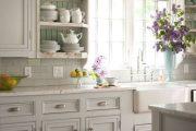 Фото 11 Кухня в стиле шебби-шик: винтажная роскошь для ценителей комфорта и 80 уютных интерьеров