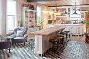 Фото 14 Кухня в стиле шебби-шик: винтажная роскошь для ценителей комфорта и 80 уютных интерьеров