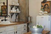 Фото 16 Кухня в стиле шебби-шик: винтажная роскошь для ценителей комфорта и 80 уютных интерьеров
