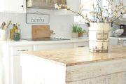 Фото 21 Кухня в стиле шебби-шик: винтажная роскошь для ценителей комфорта и 80 уютных интерьеров