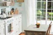 Фото 24 Кухня в стиле шебби-шик: винтажная роскошь для ценителей комфорта и 80 уютных интерьеров