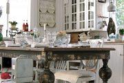 Фото 30 Кухня в стиле шебби-шик: винтажная роскошь для ценителей комфорта и 80 уютных интерьеров