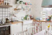 Фото 34 Кухня в стиле шебби-шик: винтажная роскошь для ценителей комфорта и 80 уютных интерьеров